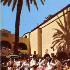 Postales: Nº 3785 POSTAL LAS PALMAS DE GRAN CANARIA BAILES TIPICOS. Lote 12087038
