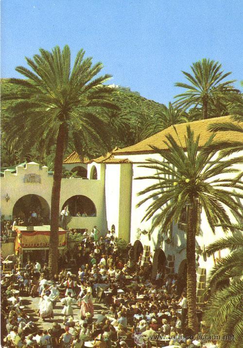 Nº 3789 POSTAL LAS PALMAS DE GRAN CANARIA BAILES TIPICOS (Postales - España - Canarias Moderna (desde 1940))