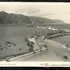 Postales: TARJETA POSTAL DE TENERIFE Nº 47. MUELLE. ED. ARRIBAS. Lote 21766250