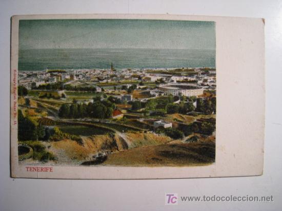 POSTAL TENERIFE: VISTA GENERAL (NOBREGA) (Postales - España - Canarias Antigua (hasta 1939))