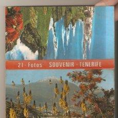 Postales: DESPLEGABLE DE TENERIFE. Lote 26961503