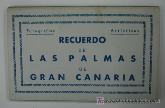 LAS PALMAS DE GRAN CANARIA. 10 TARJETAS POSTALES. (ED. ARRIBAS.) (Postales - España - Canarias Antigua (hasta 1939))