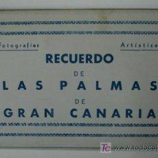 Postales: LAS PALMAS DE GRAN CANARIA. 10 TARJETAS POSTALES. (ED. ARRIBAS.). Lote 12882201