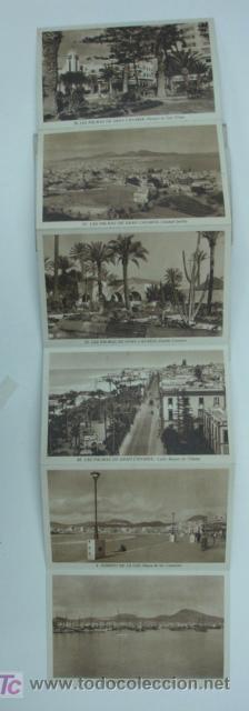 Postales: LAS PALMAS DE GRAN CANARIA. 10 TARJETAS POSTALES. (ED. ARRIBAS.) - Foto 3 - 12882201
