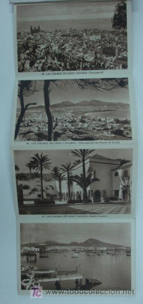 Postales: LAS PALMAS DE GRAN CANARIA. 10 TARJETAS POSTALES. (ED. ARRIBAS.) - Foto 2 - 12882201