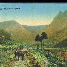 Postales: TARJETA POSTAL DE LAS PALMAS, VALLEY DE AGAETE. RODRIGUES BROS. Lote 74294034