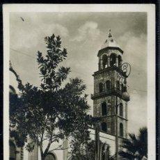 Postales: TARJETA POSTAL DE SANTA CRUZ DE TENERIFE, IGLESIA SAN FR. Lote 23186377