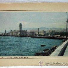 Postales: POSTAL SANTA CRUZ DE TENERIFE ENTRADA DESDE EL MUELLE 1953. Lote 13290032