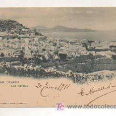 Postales: GRAN CANARIA. LAS PALMAS. (HAUSER Y MENET, 466). REVERSO SIN DIVIDIR. . Lote 13482299