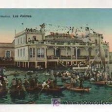Postales: LAS PALMAS. REAL CLUB NÁUTICO. (ED. RODRIGUES BROS.). Lote 13597357