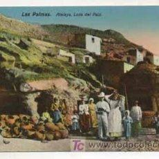 Postales: LAS PALMAS. ATALAYA. LOZA DEL PAIZ. (ED. RODRIGUES BROS.). Lote 13597508