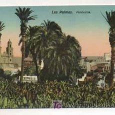 Postales: LAS PALMAS. PANORAMA. (ED. RODRIGUES BROS.). Lote 13597793