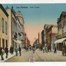 Postales: LAS PALMAS. CALLE TRIANA. (ED. RODRIGUES BROS.). Lote 13597887