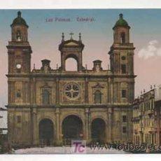 Postales: LAS PALMAS. CATEDRAL. (ED. FOTOGRAFÍA ALEMANA.) . Lote 13598156