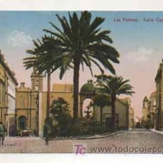 Postales: LAS PALMAS CALLE CASTILLO. (ED. FOTOGRAFÍA ALEMANA.) . Lote 13598185