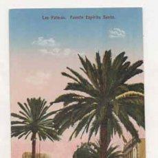 Postales: LAS PALMAS. FUENTE ESPIRITU SANTO. (ED. FOTOGRAFÍA ALEMANA.) . Lote 13598252