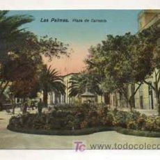Postales: LAS PALMAS. PLAZA DE CAIRASCO. (ED. RODRIGUES BROS.). Lote 13598310