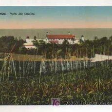 Postales: LAS PALMAS. HOTEL SANTA CATALINA. (ED. RODRIGUES BROS.). Lote 13598341