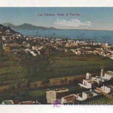 Postales: LAS PALMAS. VISTA AL PUERTO. (ED. FOTOGRAFIA ALEMANA.). Lote 13598350