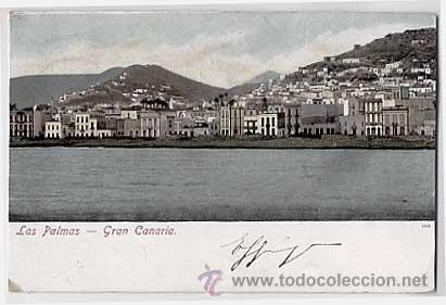 LAS PALMAS GRAN CANARIA. CIRCULADA EN 1903 (Postales - España - Canarias Antigua (hasta 1939))