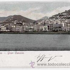 Postales: LAS PALMAS GRAN CANARIA. CIRCULADA EN 1903. Lote 13858624