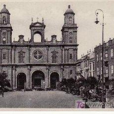 Postcards - CATEDRAL DE LAS PALMAS..ESTA Y MAS POSTALES EN RASTRILLOPORTOBELLO-MIRELAS... - 26387113