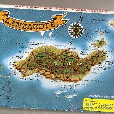 Postales: POSTAL DE LANZAROTE, ACORDEON DE 10 POSTALES. Lote 129393834