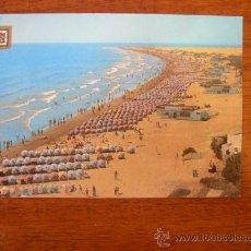 Postales: PLAYA DEL INGLES (GRAN CANARIA). Lote 15229167