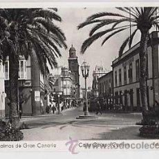 Postales: LAS PALMAS DE GRAN CANARIA. CALLE OBISPO CODINA. ED. ARRIBAS. CIRCULADA. Lote 15422016
