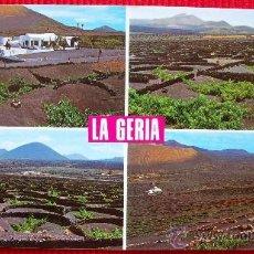 Postales: LA GERIA - LANZAROTE - ISLAS CANARIAS. Lote 15988901