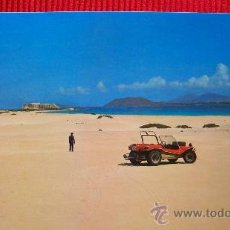 Postales: PLAYA DE CORRALEJO - FUERTEVENTURA - ISLAS CANARIAS. Lote 16208370