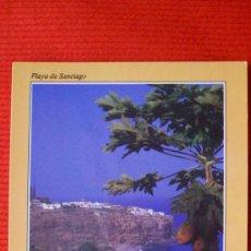 Postales: PLAYA DE SANTIAGO - LA GOMERA - ISLAS CANARIAS. Lote 16214392