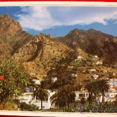 Postales: VALLEHERMOSO - LA GOMERA - ISLAS CANARIAS. Lote 16214888