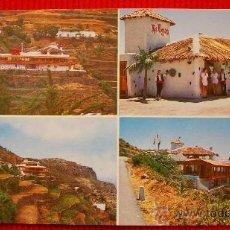 Postales: RESTAURANTE LAS ROSAS - LA GOMERA - ISLAS CANARIAS . Lote 16217613