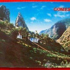 Postales: LOS ROQUES - HERMIGUA - LA GOMERA - ISLAS CANARIAS. Lote 16217781