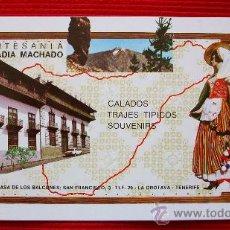 Postales: ARTESANIA LA OROTAVA - TENERIFE - ISLAS CANARIAS. Lote 16323281
