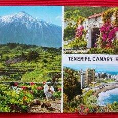 Postales: TENERIFE - ISLAS CANARIAS. Lote 16348489