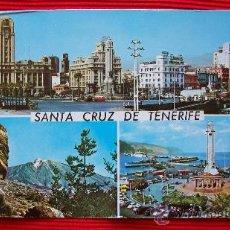 Postales: SANTA CRUZ DE TENERIFE - ISLAS CANARIAS. Lote 16348717