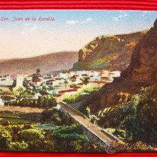 Postales: SAN JUAN DE LA RAMBLA - TENERIFE - ISLAS CANARIAS. Lote 16405404