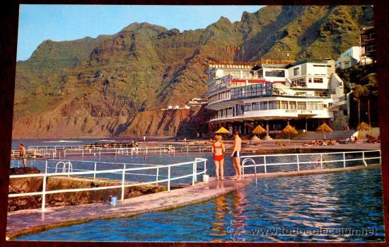 Foto postal de bajamar tenerife piscinas nat comprar for Piscinas naturales tenerife sur