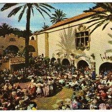 Postales: BONITA POSTAL - LAS PALMAS DE GRAN CANARIA - BAILE TIPICO EN EL PUEBLO CANARIO . Lote 27084294