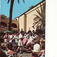 Postales: LAS PALMAS DE GRAN CANARIA.BAILES TIPICOS,PUEBLO CANARIO.CIRCULADA... Lote 17058912