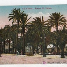 Postales: TARJETA POSTAL DE LAS PAMAS Nº 11182. PARQUE ST. HELMO.. Lote 22053464