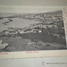 Postales: TARJETA POSTAL DE SANTA CRUZ TENERIFE - CANARIAS . Lote 17404403