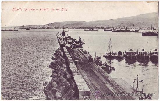 Resultado de imagen de puerto de la luz y de las palmas fotos antiguas
