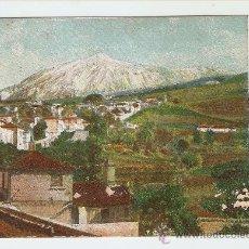 Postales: EL TEIDE DESDE ICOD - TENERIFE. Lote 17913723