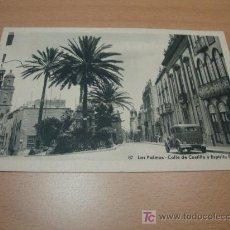 Postales: POSTAL LAS PALMAS CALLE DE CASTILLO Y ESPIRITU SANTO. Lote 21272277