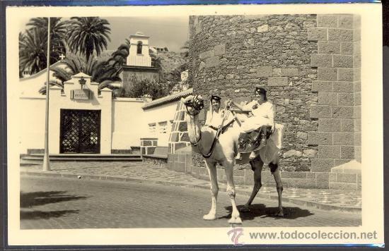 TARJETA POSTAL DE LA PALMAS DE GRAN CANARIA PUEBLO CANARIO ISLAS CANARIAS (Postales - España - Canarias Moderna (desde 1940))