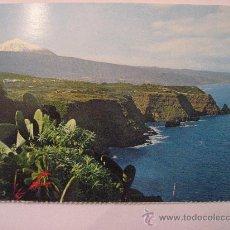 Postales: POSTAL SIN CIRCULAR DE TENERIFE,PAISAJE CON TEIDE Y MAR.. Lote 18778393