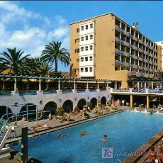Postales: CANARIAS - PISCINA HOTEL METROPOL - GLOBAL TRADERS 1966. Lote 18990335